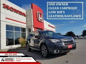 2017 Subaru Forester 2.0XT Limited w/Tech Pkg  LOW KM'S LOADED L