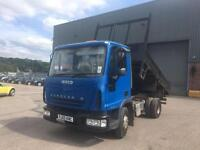 Iveco cargo tector TIPPER - 2005 55-REG - ONLY 1 OWNER FROM NEW
