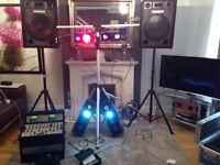 Disco / DJ equipment £450