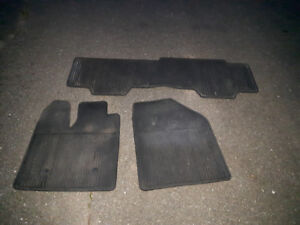 Ford Edge winter mats front and back