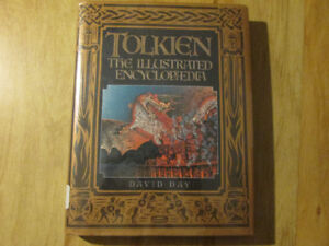 The ILLUSTRATED TOLKIEN ENCYLOPEDIA Hardcover HC Book 1991