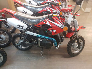 KIDS 110 DIRT BIKE SEMI AUTO 3 SPEED SALE PRICE