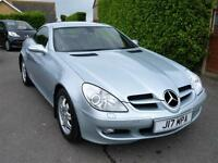 MERCEDES SLK 200 KOMPRESSOR AUTOMATIC (ONLY 64,000 MILES FROM NEW)