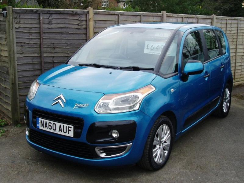 2010 60 citroen c3 picasso 1 6 picasso vtr plus hdi 5d 90 bhp diesel in reading berkshire. Black Bedroom Furniture Sets. Home Design Ideas