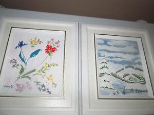 Plusieurs tableaux variés entre 100$ et 400$ West Island Greater Montréal image 4
