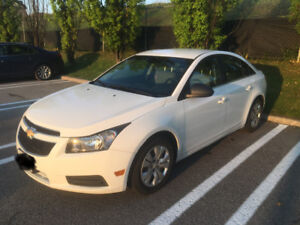 2012 Chevy cruze -great price, low kms