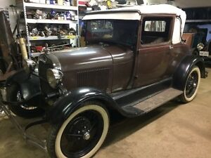 1929 Ford Model A Sport Coupe. *** Sale Pending ***