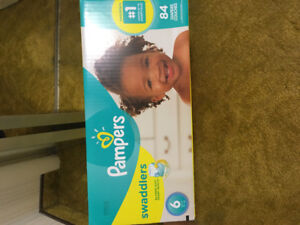 New box Pampers