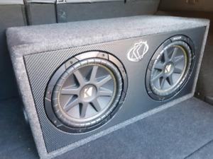 RIDICULOUS PRICE Subwoofers Kicker CompC 2 x 10 inches.