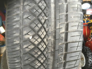 P255/35R20 Continental extreme contact summer tires