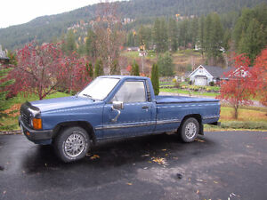 1986 Toyota Other Pickups Blue Pickup Truck