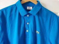 Men's Lacoste Sport Turquoise Polo T shirt