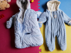 Infant winter snow suit