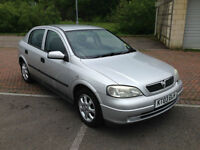 2003 Vauxhall Astra 1.6i 16v Automatic Club 5 Door Silver