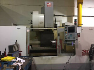 HAAS VF-6/50  CNC VERTICAL MACHINING CENTER WITH ROTARY TABLE