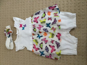 6-9 month romper dress