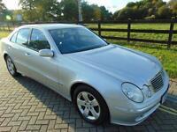2004 04 MERCEDES-BENZ E CLASS 2.7 E270 CDI AVANTGARDE 4D AUTO 177 BHP DIESEL