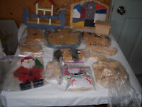 HOMEMADE WOODEN CRAFTS & TOYS