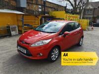 2009 Ford Fiesta 1.25 Zetec 3dr +ULEZ +Aux +Petrol +Cheap Insurance