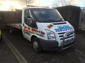 2006 FORD TRANSIT RECOVERY TRUCK 17FT DIESEL