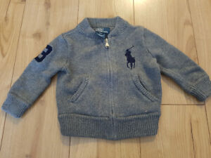 Baby Boys Ralph Lauren POLO Sweater NWOT size: 9 months