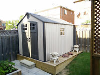 Outdoor Shed 8 x 10ft