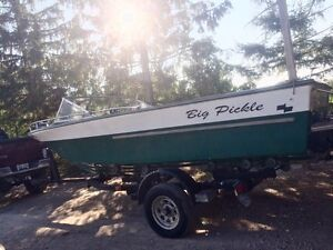 19ft mercruiser inboard/outboard with trailer