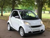 2010 White Smart ForTwo 1.0 MHD Passion 2 Door Petrol Auto Convertible