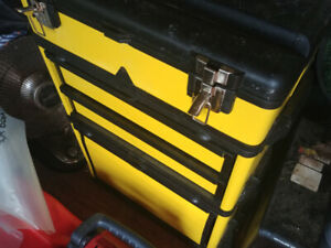 Portable tool cabinet, metal