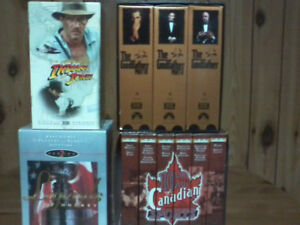VHS Tapes Boxed Sets