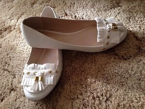 Never Worn! 2 for 25  Ladies Classy loafer shoes.