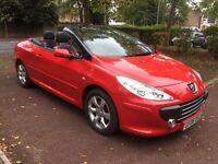 Peugeot 307 CC 1.6 16v Allure 2dr HPI CLEAR+6 MONTHS WARRANTY