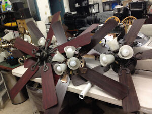 CEILING FAN ONE LEFT FOR $55 FIRM REDUCED TODAY ONLY