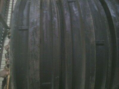 Two 9.5lx15 9.5l-15 Triple Rib Front Tractor Tires With Tubes 8 Ply