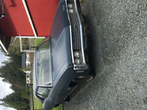1969 biscayne 2dr post project car 454 T400 10 in convert pdb