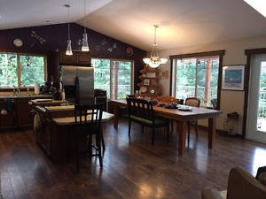 Beautiful Kootenay Home on acrege for sale