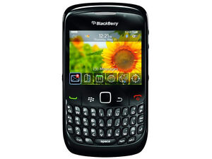 NEW BLACKBERRY CURVE 8520 BLACK UNLOCKED GSM SMARTPHONE SB