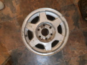 4 gmc 15inch 6bolt rims