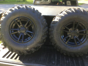 Brand New Arctic Cat Rims with Carlisle Trail Pro Tires