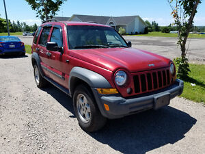 2006 Jeep Liberty Sport 4WD SUV, Crossover