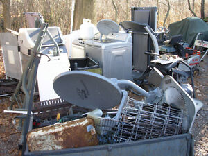 FREE PICK UP OF METAL & ELECTRONIC EQUIPMENT
