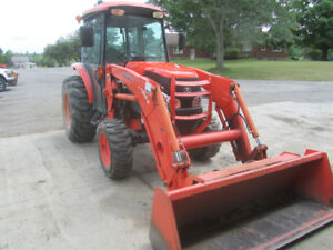 KUBOTA L5240 COMPACT TRACTOR WITH CAB, AIR HEAT