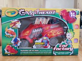 New never opened Crayola gadget headz car factory