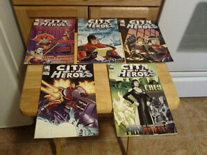 City of Heroes (2004 Blue King) #4, #5, #6, #7 & #8