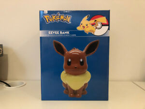 Pokemon Eevee Coin Bank NEW
