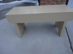 Antique Solid Wood Painted Bench