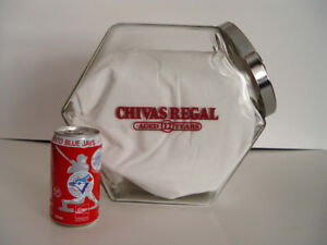 Chivas Regal advertising store counter candy/cookie jar