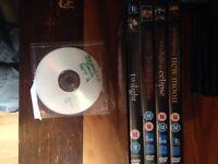 Twilight Saga DVDs