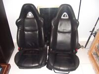 Mazda rx8 leather front seats