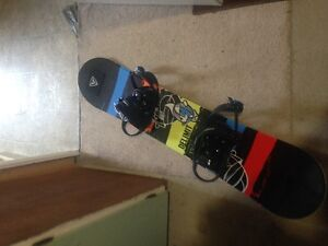 firefly board, bindings and boots